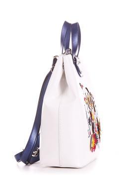 Фото товара: сумка-рюкзак 200143 белый. Вид 2.