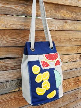 Фото товара: сумка-рюкзак 200255 світло-сірий. Вид 2.