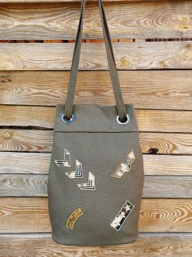 Фото товара: сумка-рюкзак 200256 хакі. Вид 1.