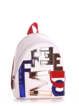 Фото товара: мини-рюкзак 200031 белый. Вид 1.