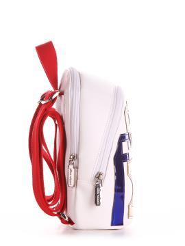 Фото товара: мини-рюкзак 200031 белый. Вид 2.
