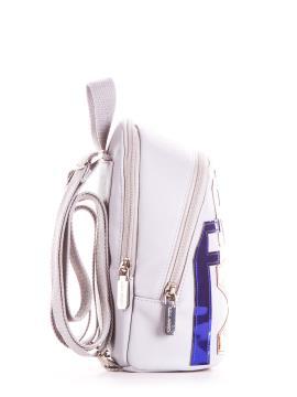 Фото товара: мини-рюкзак 200033 светло-серый. Вид 2.