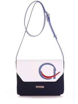Фото товара: сумка через плече 200012 синій. Вид 1.