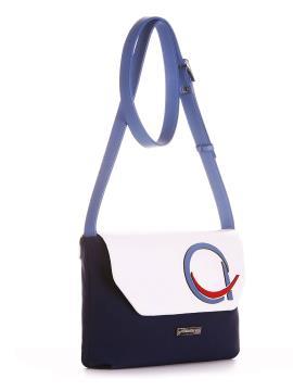 Фото товара: сумка через плече 200012 синій. Вид 2.