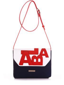 Фото товара: сумка через плече 200013 синій. Вид 1.
