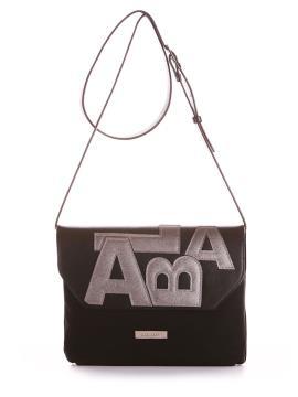 Фото товара: сумка через плече 200016 чорний. Вид 1.