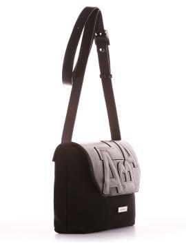 Фото товара: сумка через плечо 200016 черный. Вид 2.