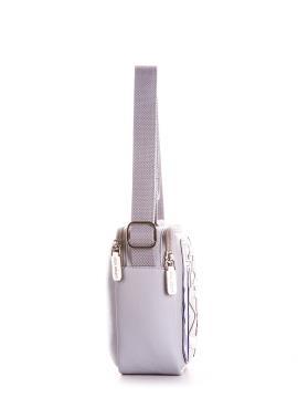 Фото товара: сумка через плече 200043 світло-сірий. Вид 2.