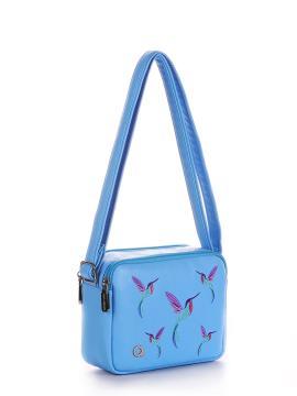 Фото товара: сумка через плече 200045 блакитний. Вид 1.