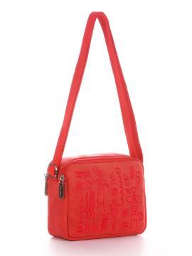 Фото товара: сумка через плече 200047 червоний. Вид 1.