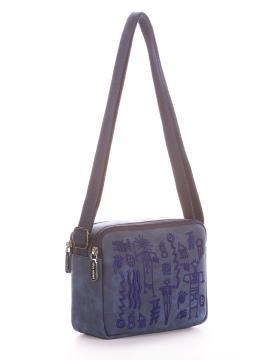 Фото товара: сумка через плече 200049 синій. Вид 1.