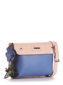 Фото товара: сумка через плече 200173 блакитний. Вид 1.