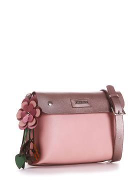 Фото товара: сумка через плече 200174 рожевий. Вид 1.