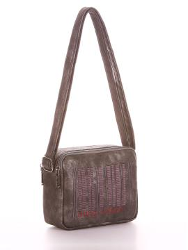 Фото товара: сумка через плечо 200215 никель. Вид 1.
