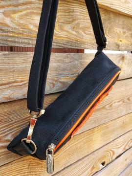 Фото товара: сумка на пояс 200262 чорний. Вид 2.