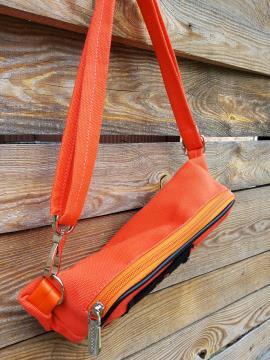 Фото товара: сумка на пояс 200263 оранжевий. Вид 2.