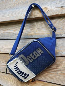 Фото товара: сумка на пояс 200264 синій. Вид 1.
