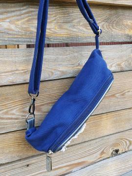 Фото товара: сумка на пояс 200264 синій. Вид 2.