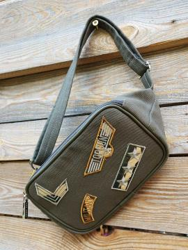 Фото товара: сумка на пояс 200266 хакі. Вид 1.