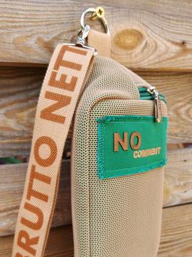 Фото товара: сумка на пояс 200281 бежевый. Вид 2.