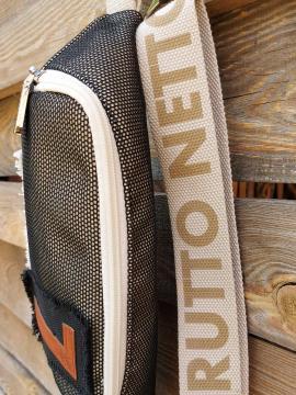 Фото товара: сумка на пояс 200283 чорний. Вид 2.