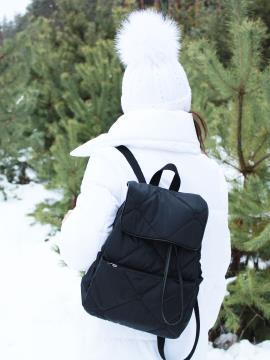 Фото товара: рюкзак 210031 черный. Фото - 2.