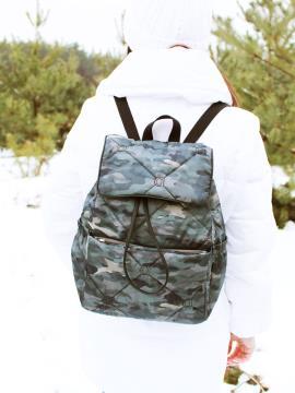 Фото товара: рюкзак 210033 милитари. Фото - 2.