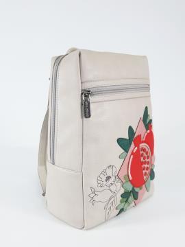 Фото товара: рюкзак 210092 французький сірий. Вид 1.
