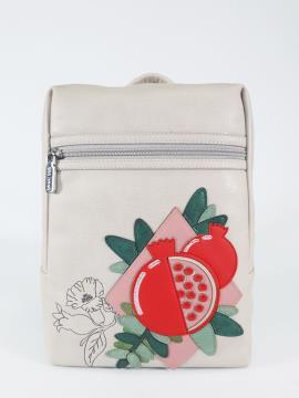 Фото товара: рюкзак 210092 французький сірий. Вид 2.