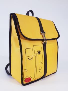 Фото товара: рюкзак 210171 желтый. Вид 1.