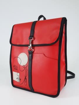 Фото товара: рюкзак 210172 червоний. Вид 1.