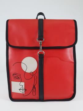 Фото товара: рюкзак 210172 червоний. Вид 2.