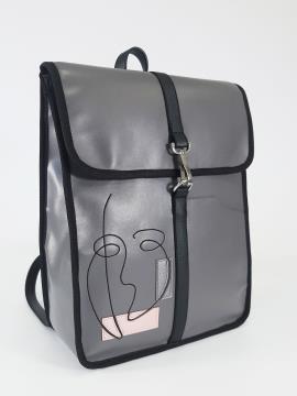 Фото товара: рюкзак 210173 сірий. Вид 1.