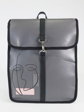 Фото товара: рюкзак 210173 сірий. Вид 2.
