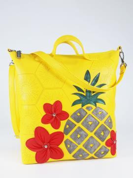 Фото товара: сумка 210083 жовтий. Вид 1.