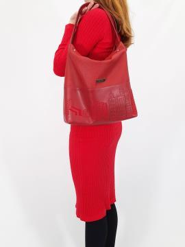 Фото товара: сумка 210132 вишня. Вид 1.