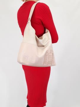 Фото товара: сумка 210135 св. рожевий. Вид 1.