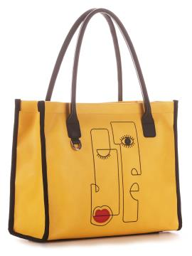 Фото товара: сумка 210161 жовтий. Вид 1.
