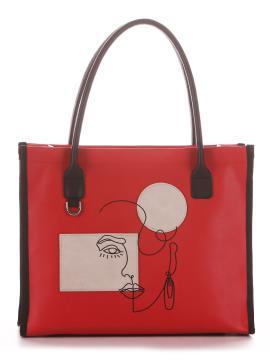 Фото товара: сумка 210162 червоний. Вид 2.