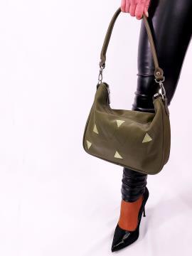 Фото товара: сумка через плече 210074 хакі. Вид 1.