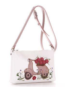Фото товара: сумка через плече 210113 білий. Вид 1.