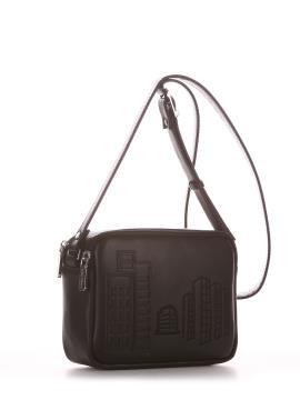 Фото товара: сумка через плече 210151 чорний. Вид 1.