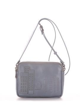 Фото товара: сумка через плече 210153 сіро-блакитний. Вид 2.