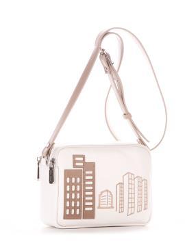Фото товара: сумка через плече 210154 білий. Вид 1.