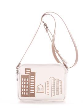 Фото товара: сумка через плече 210154 білий. Вид 2.