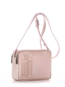 Фото товара: сумка через плече 210155 св. рожевий. Вид 1.