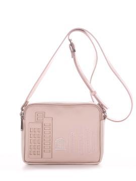 Фото товара: сумка через плече 210155 св. рожевий. Вид 2.