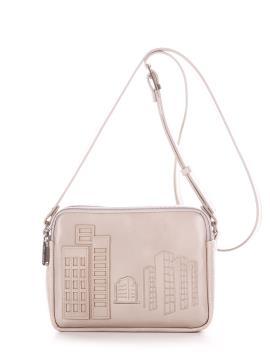 Фото товара: сумка через плече 210156 бежевий. Вид 2.