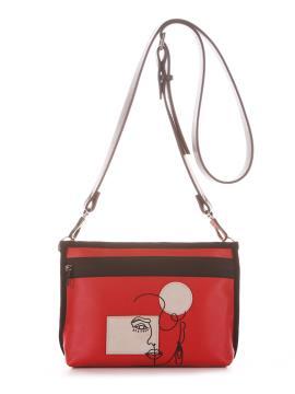 Фото товара: сумка через плече 210182 червоний. Вид 2.