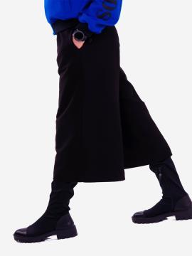 Фото товара: женские кюлоты 201-000-01 черный. Вид 1.